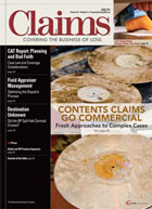 Read our recent Contents Claims article in Claims Magazine